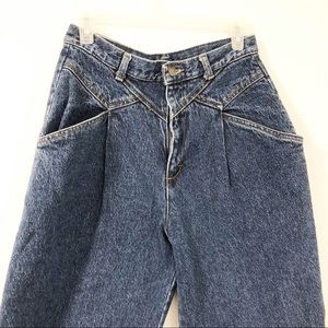 Vintage Cherokee High Rise Mom Jeans Tapered Leg